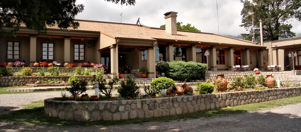 Hostería Lunahuana en Tafí del Valle, Provincia de Tucumán, Argentina